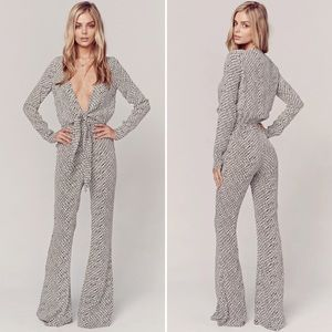 Stone Cold Fox Stardust Printed Jumpsuit